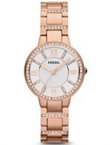 Picture of Fossil Virginia Three-Hand Crystal Gold Tone ES3284 Women's Watch