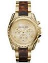 Picture of Michael Kors Blair Chronograph Champagne Dial Crystals MK6094 Women's Watch